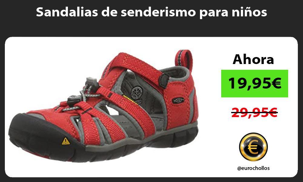 Sandalias de senderismo para niños