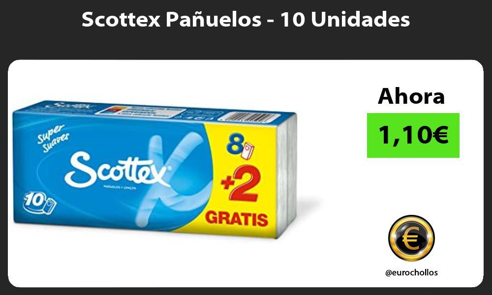 Scottex Pañuelos 10 Unidades