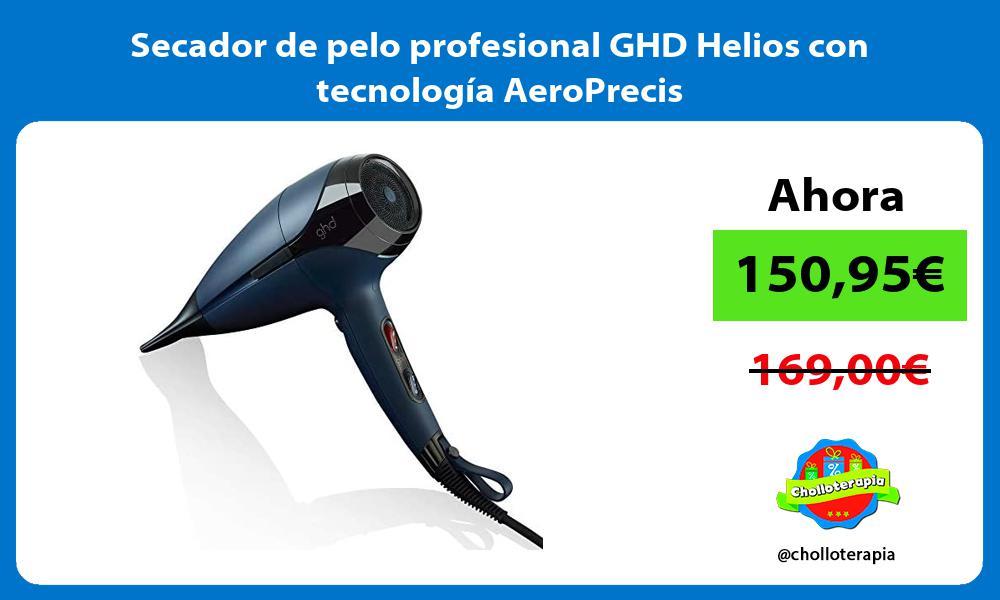 Secador de pelo profesional GHD Helios con tecnología AeroPrecis