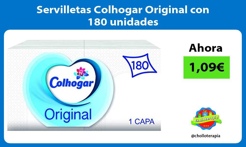 Servilletas Colhogar Original con 180 unidades