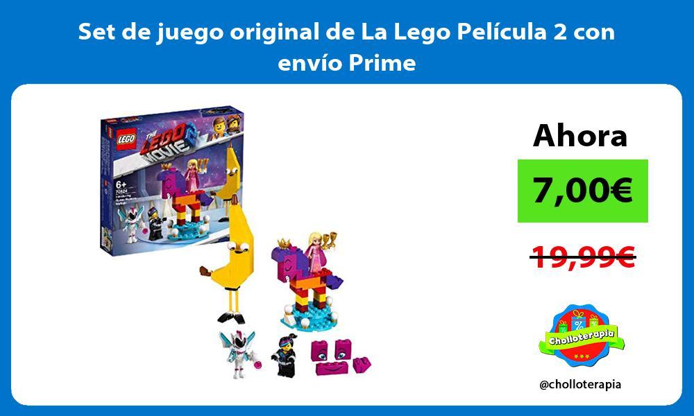 Set de juego original de La Lego Película 2 con envío Prime