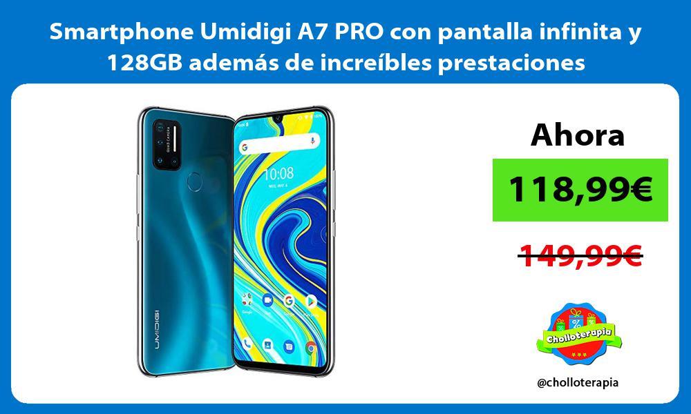 Smartphone Umidigi A7 PRO con pantalla infinita y 128GB además de increíbles prestaciones