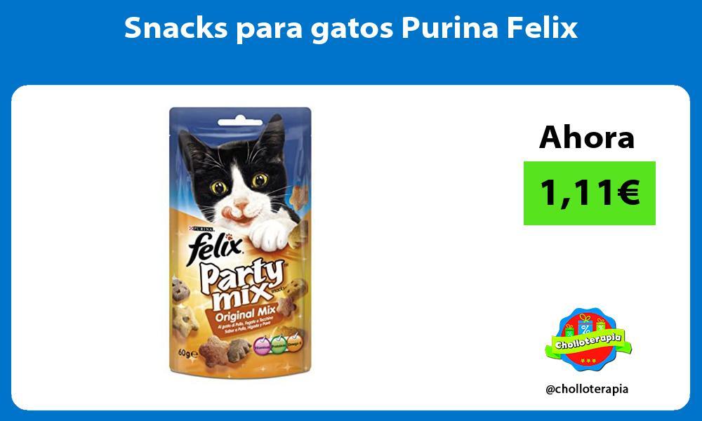 Snacks para gatos Purina Felix