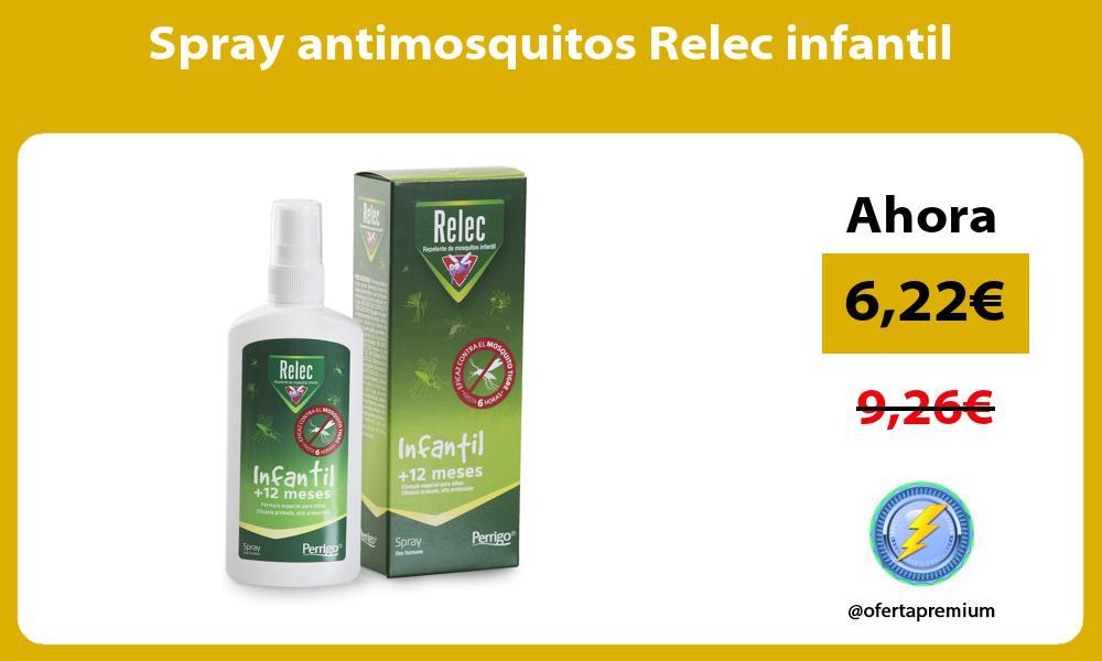 Spray antimosquitos Relec infantil