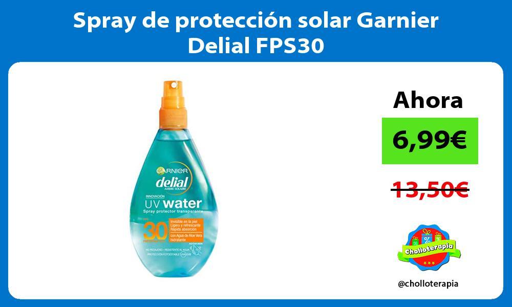 Spray de protección solar Garnier Delial FPS30