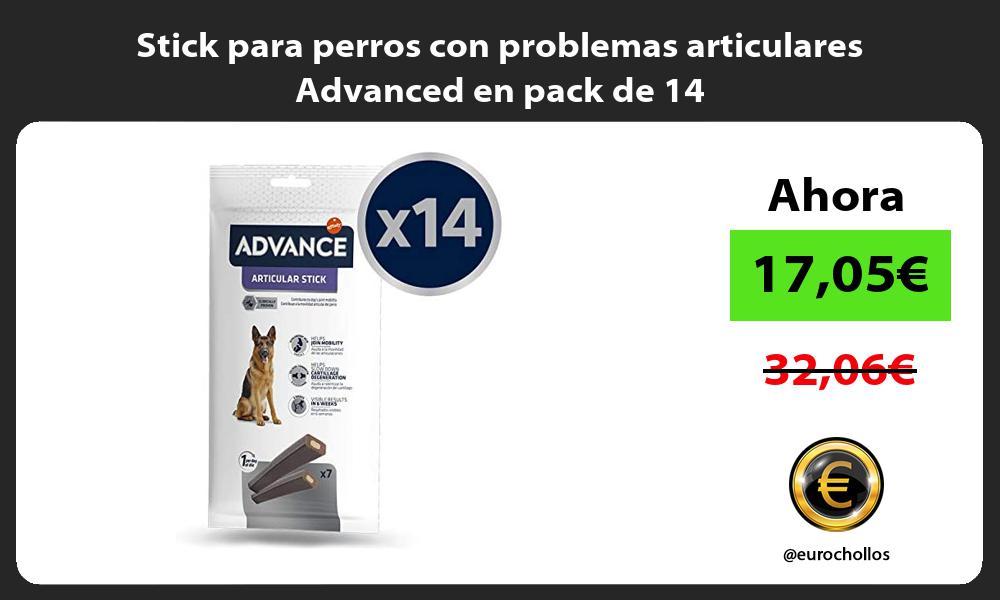Stick para perros con problemas articulares Advanced en pack de 14