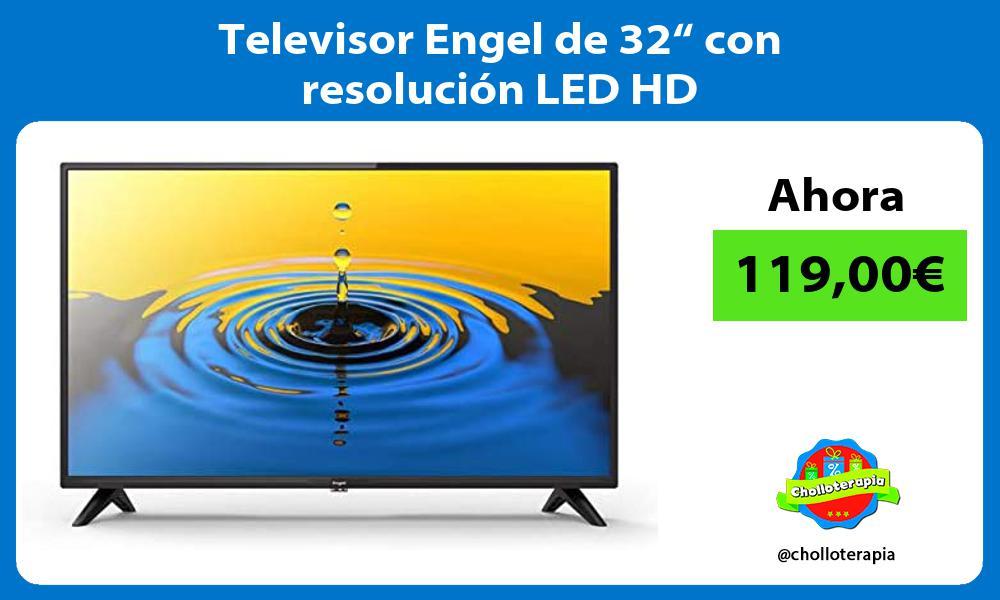 """Televisor Engel de 32"""" con resolución LED HD"""