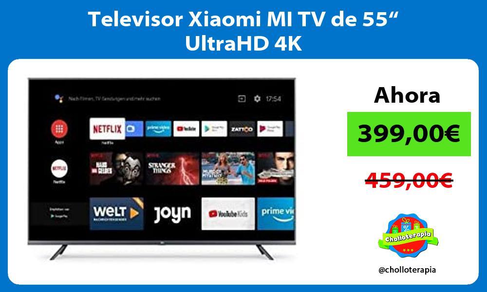"Televisor Xiaomi MI TV de 55"" UltraHD 4K"
