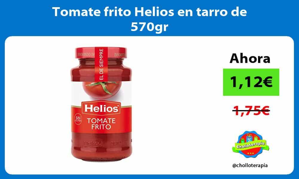 Tomate frito Helios en tarro de 570gr