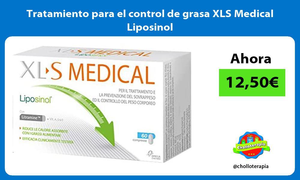Tratamiento para el control de grasa XLS Medical Liposinol