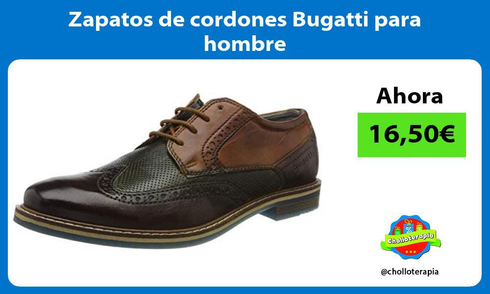 Zapatos de cordones Bugatti para hombre