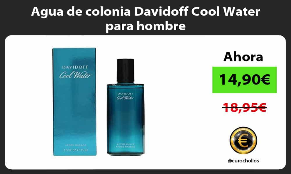 Agua de colonia Davidoff Cool Water para hombre
