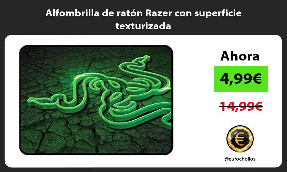 Alfombrilla de ratón Razer con superficie texturizada