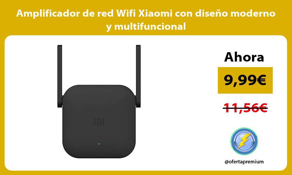 Amplificador de red Wifi Xiaomi con diseno moderno y multifuncional