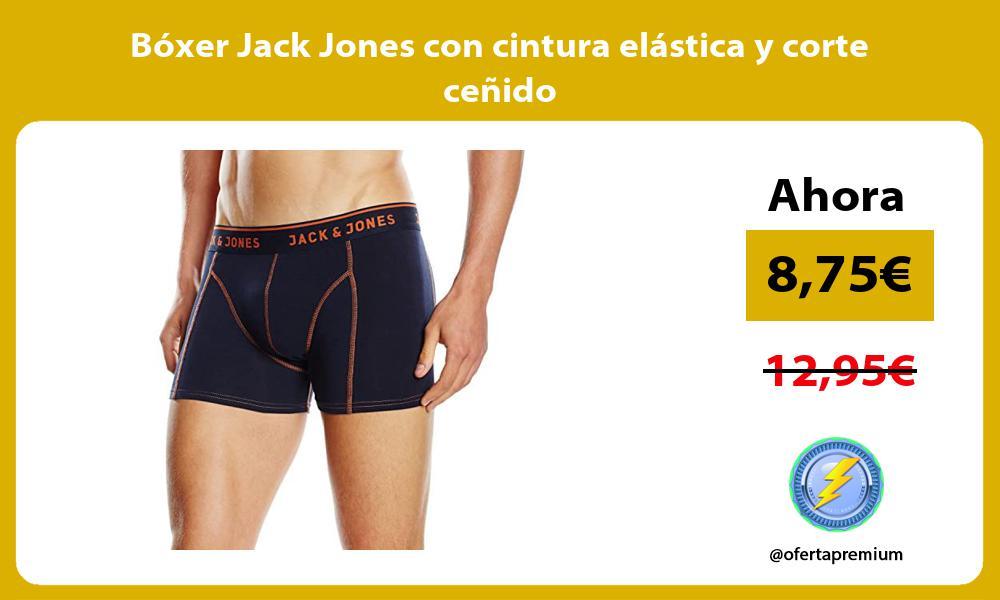 Bóxer Jack Jones con cintura elástica y corte ceñido