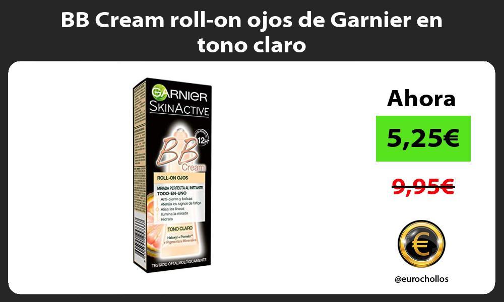 BB Cream roll on ojos de Garnier en tono claro