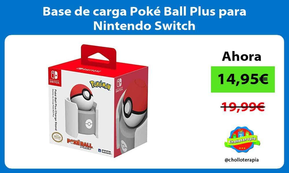 Base de carga Poké Ball Plus para Nintendo Switch