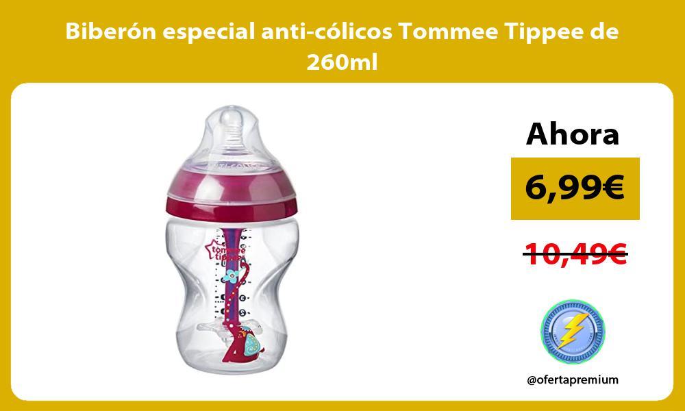 Biberón especial anti cólicos Tommee Tippee de 260ml