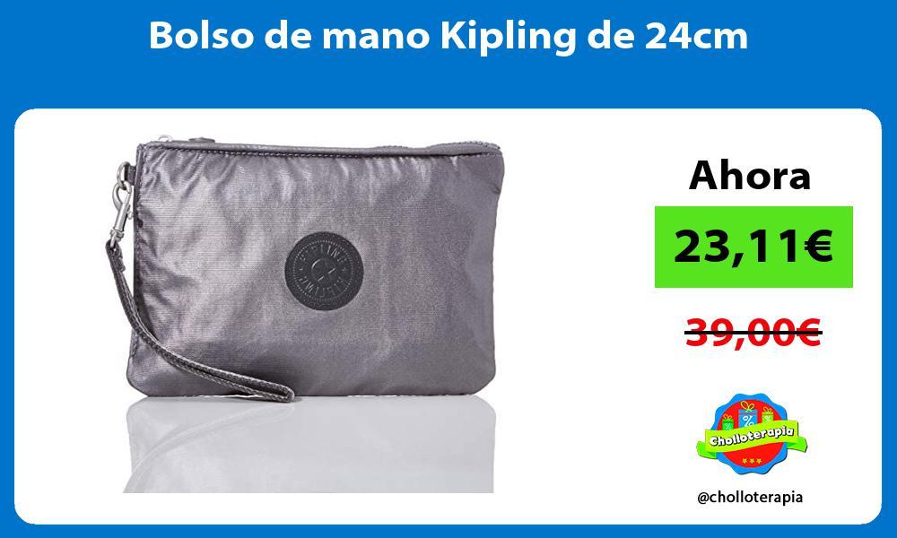Bolso de mano Kipling de 24cm