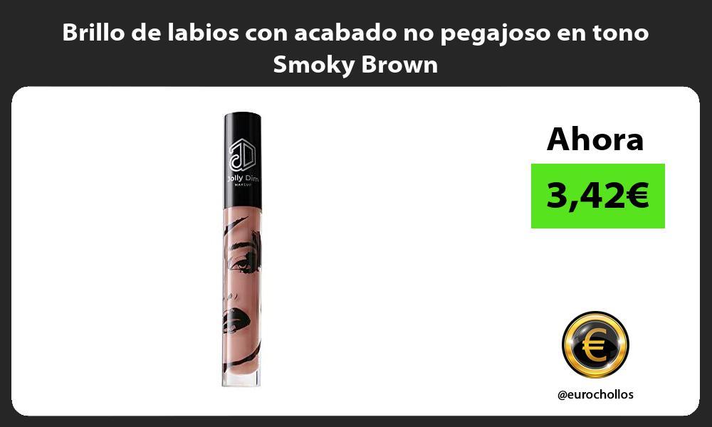 Brillo de labios con acabado no pegajoso en tono Smoky Brown