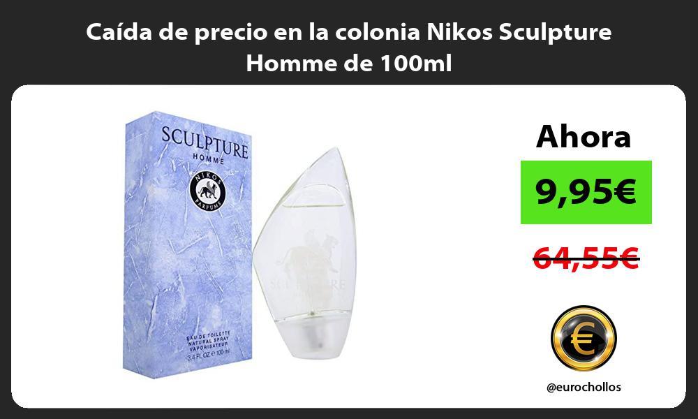 Caida de precio en la colonia Nikos Sculpture Homme de 100ml