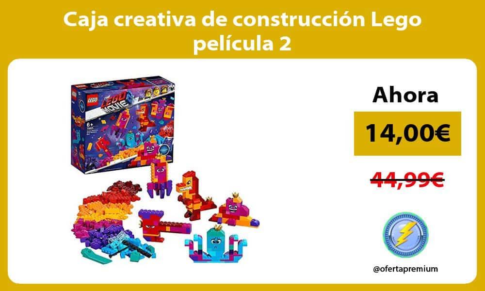 Caja creativa de construcción Lego película 2