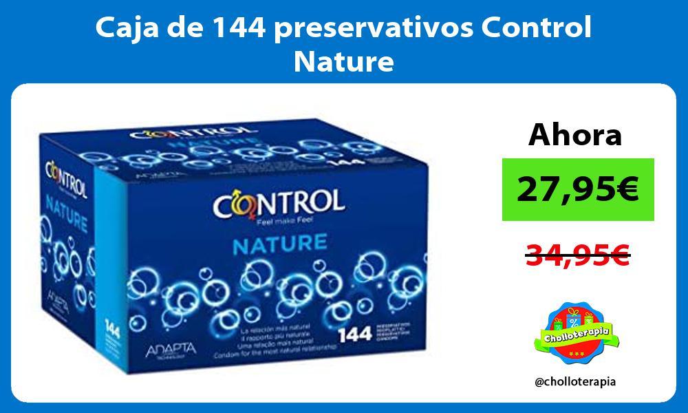 Caja de 144 preservativos Control Nature