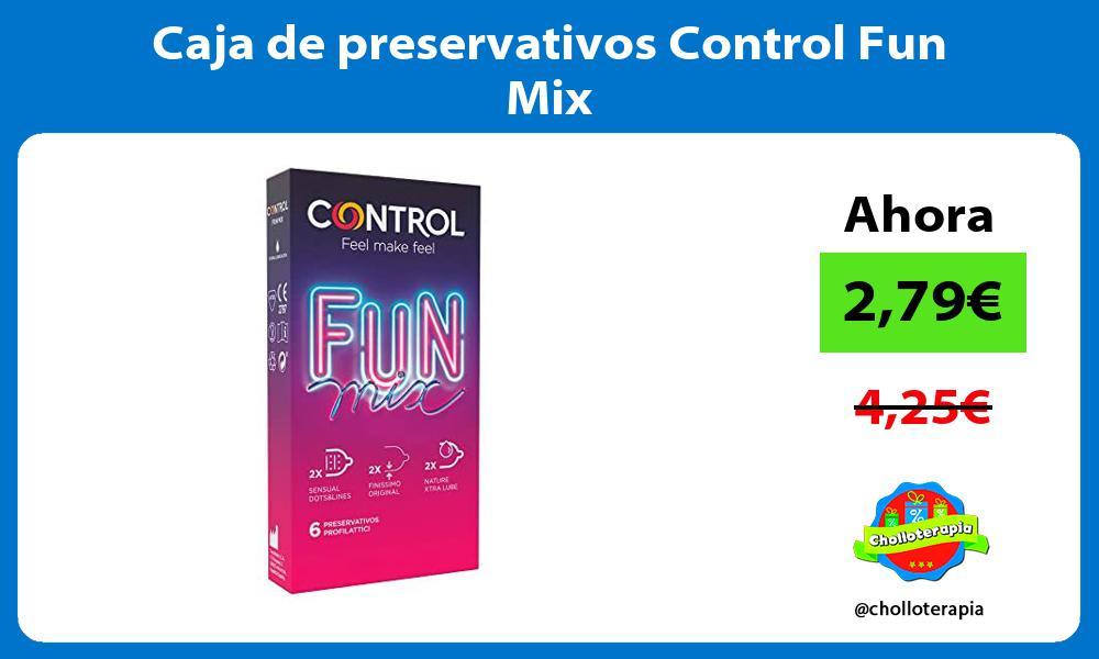 Caja de preservativos Control Fun Mix