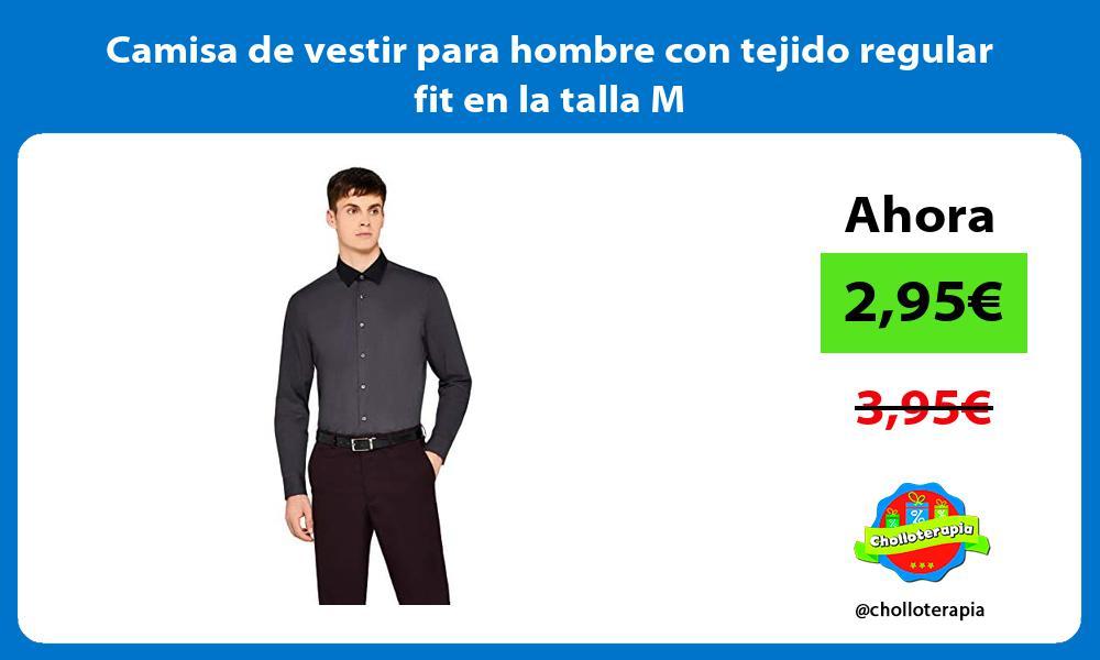 Camisa de vestir para hombre con tejido regular fit en la talla M