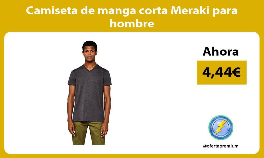 Camiseta de manga corta Meraki para hombre