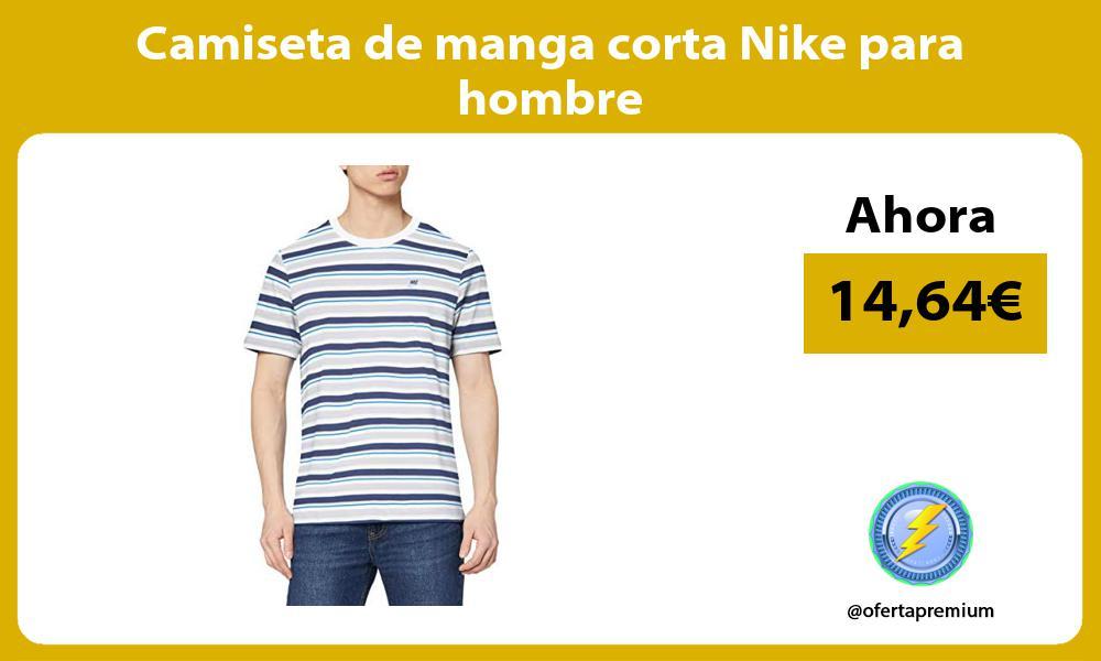 Camiseta de manga corta Nike para hombre