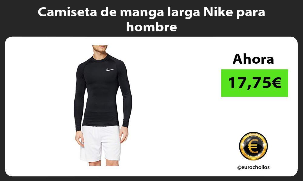 Camiseta de manga larga Nike para hombre