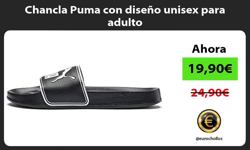 Chancla Puma con diseño unisex para adulto