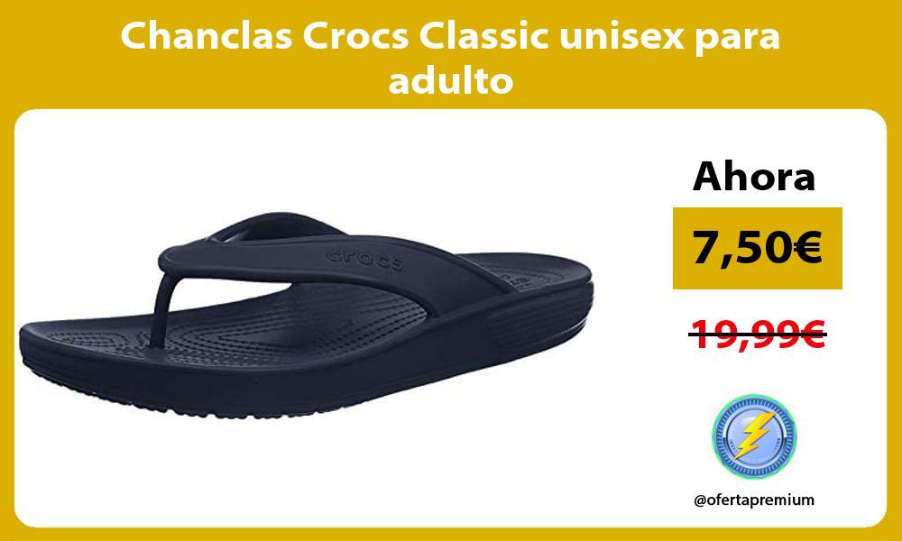 Chanclas Crocs Classic unisex para adulto