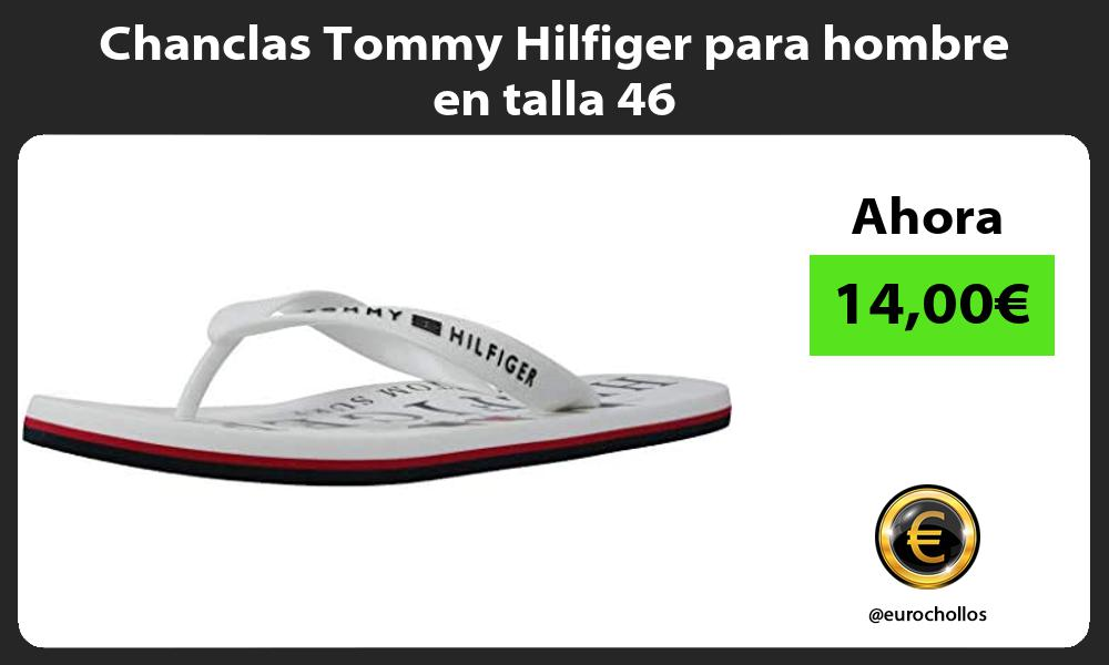 Chanclas Tommy Hilfiger para hombre en talla 46