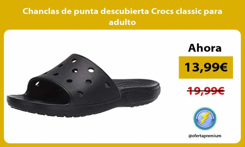 Chanclas de punta descubierta Crocs classic para adulto