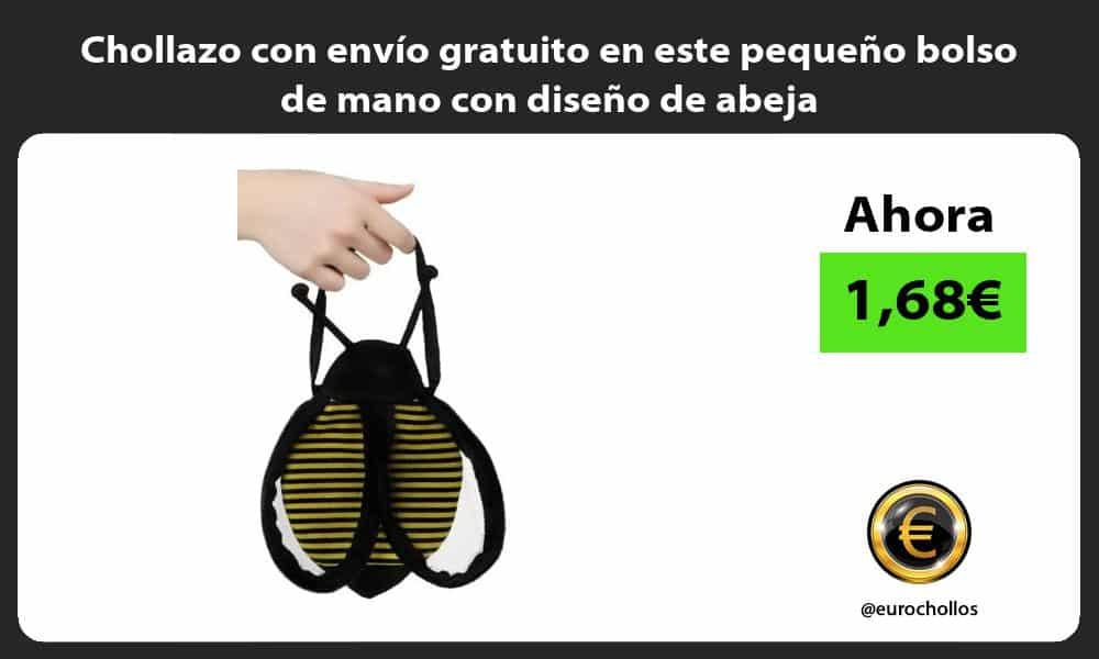Chollazo con envío gratuito en este pequeño bolso de mano con diseño de abeja