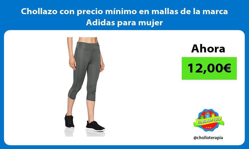 Chollazo con precio minimo en mallas de la marca Adidas para mujer