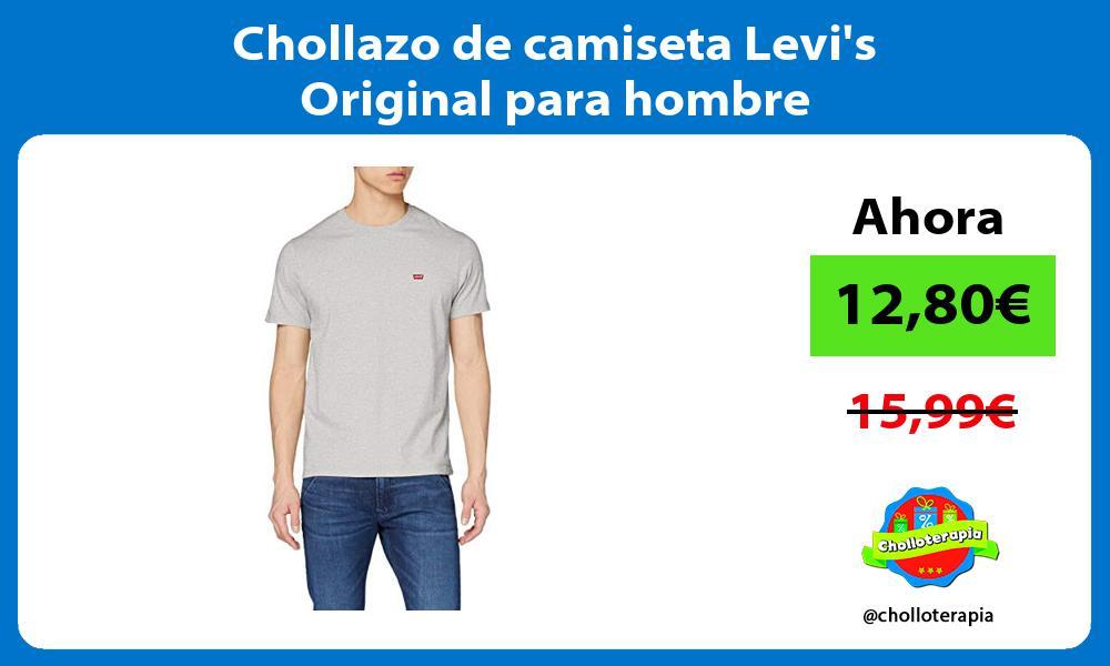 Chollazo de camiseta Levis Original para hombre