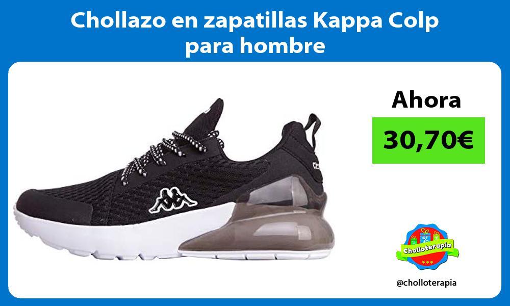Chollazo en zapatillas Kappa Colp para hombre