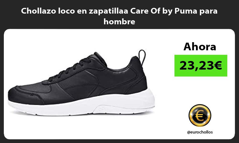 Chollazo loco en zapatillaa Care Of by Puma para hombre