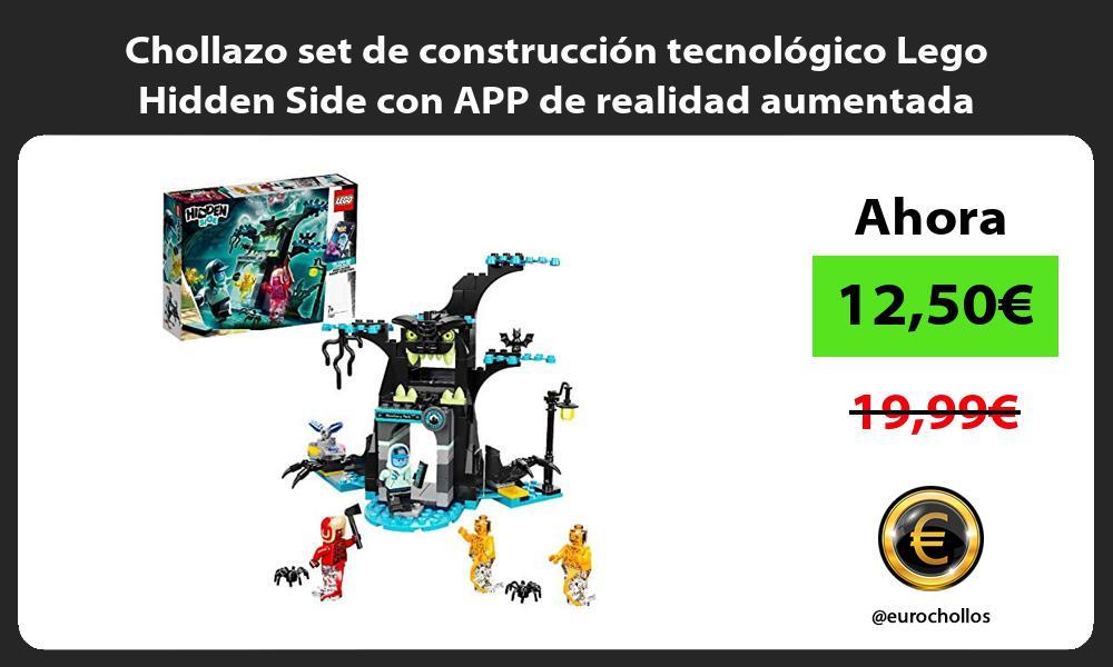 Chollazo set de construccion tecnologico Lego Hidden Side con APP de realidad aumentada