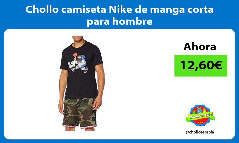 Chollo camiseta Nike de manga corta para hombre