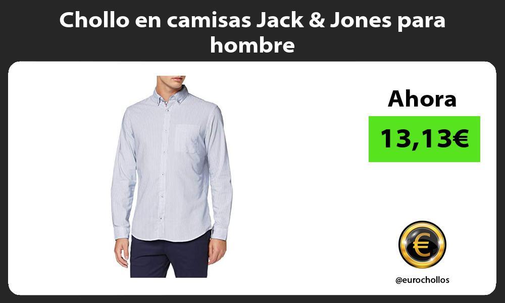 Chollo en camisas Jack Jones para hombre