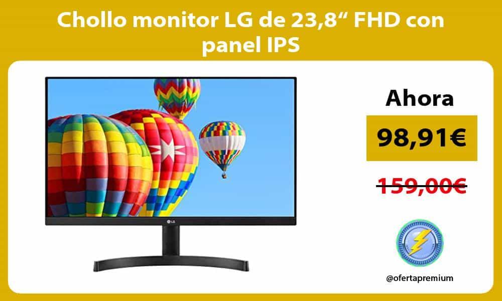 "Chollo monitor LG de 238"" FHD con panel IPS"