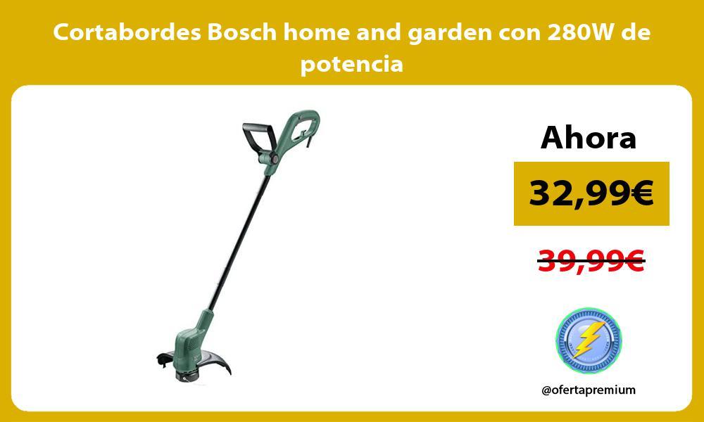 Cortabordes Bosch home and garden con 280W de potencia