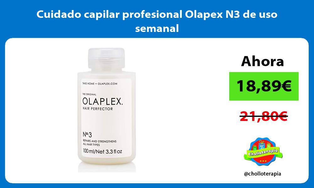 Cuidado capilar profesional Olapex N3 de uso semanal