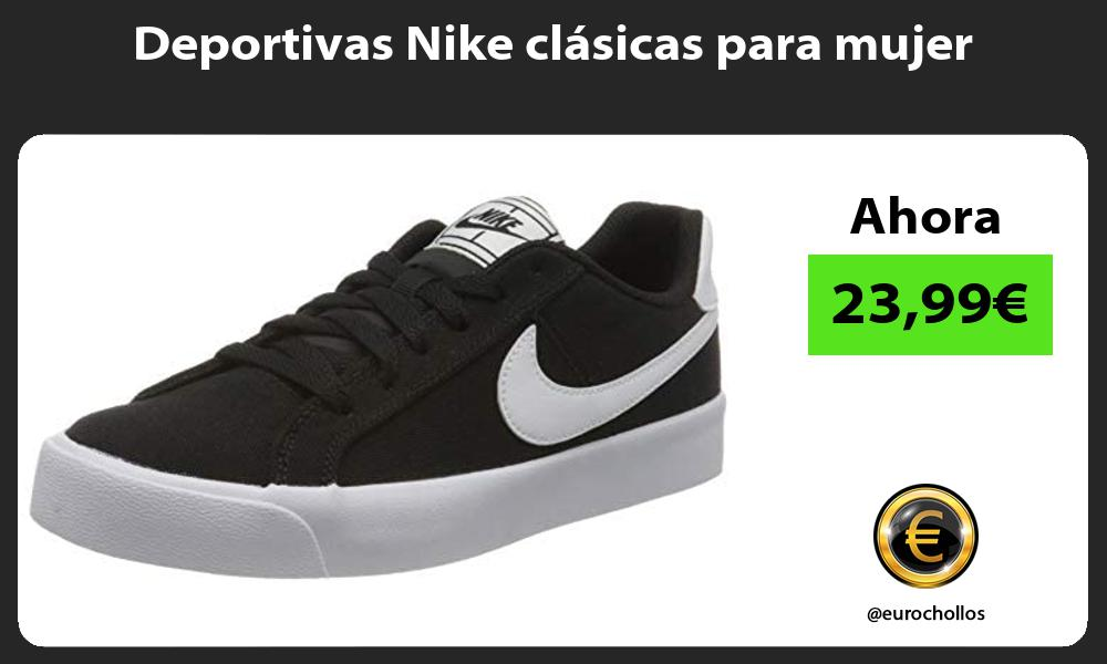 Deportivas Nike clásicas para mujer