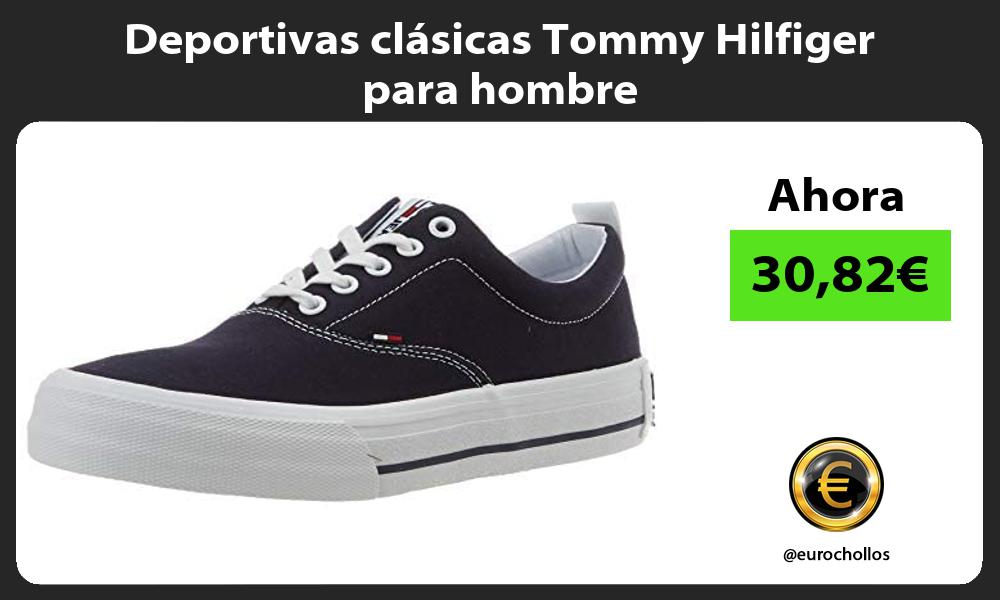 Deportivas clásicas Tommy Hilfiger para hombre