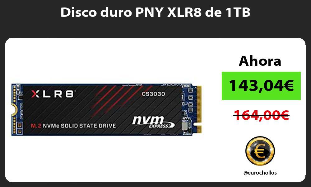 Disco duro PNY XLR8 de 1TB